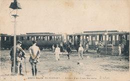 10 // HOPITAL DE MESCRIGNY, Arrivée DUN TRAIN SANITAIRE   10  ** - Autres Communes
