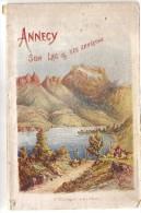 LIVRET  ANNECY SON LAC ET SES ENVIRONS  PHOTOS  82 PAGES - France
