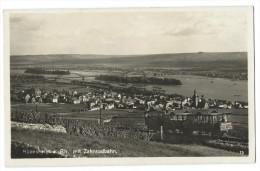 RÜDESHEIM A. RHEIN (Allemagne) Vue Générale - Train à Crémaillère Avec Des Voyageurs - Photo Véritable - Ruedesheim A. Rh.
