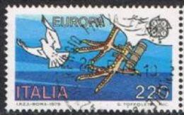 Italy SG1606 1979 Europa 220l Good/fine Used - Italy