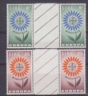 Europa Cept 1964 Ireland 2v Gutter (unfolded)  ** Mnh (22581) - Europa-CEPT