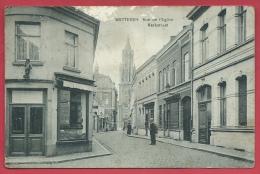 Wetteren - Kerkstraat  - 1912 ( Verso Zien ) - Wetteren
