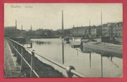 Roeselare - De Haven -Binnenschipen- 190? ( Verso Zien ) - Roeselare