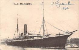 Bateaux - S.S. Manouba - Dampfer