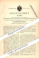 Original Patent - Eduard Delamare-Deboutteville à Rouen , 1881 , Machine De La Métallurgie Universal   !!! - Documents Historiques