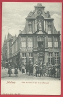 Mechelen / Malines - Salle De Vente Et Rue De La Chassée - Geanimeerd - 1922 ( Verso Zien ) - Malines