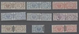 Italia Regno - Lotto Pacchi Postali - 1900-44 Vittorio Emanuele III