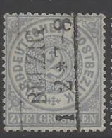 Norddeutscher Bund - 1869 - Usato/used - Mi N. 17 - Norddeutscher Postbezirk (Confederazione Germ. Del Nord)