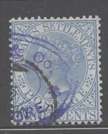 Malesia - Colonie Inglesi - 1894 - Usato/used - Regina Vittoria - Mi N. 72 - Straits Settlements