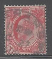 Malesia - Colonie Inglesi - 1903 - Usato/used - Edoardo VII - Mi N. 93 - Straits Settlements