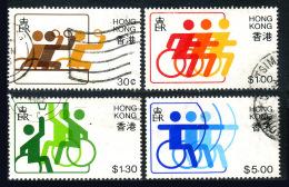 HONG KONG 1982 - Full Set Michel #404-407 Used - 1997-... Région Administrative Chinoise