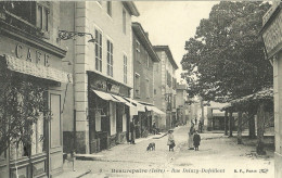 Beaurepaire Rue Deluzy Dufeillant - Beaurepaire