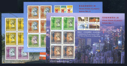 HONG KONG 1997 - Full Set 3 Miniature Sheets Michel #Block 49-51 MNH** - 1997-... Région Administrative Chinoise