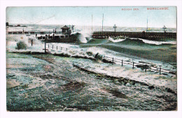 4485    Cpa      Rough Sea  MORECAMBE    ACHAT DIRECT !! - Angleterre