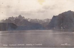 Noruega--Svartsund I Raftsund--Indseiling Til Troldfjord - Noruega