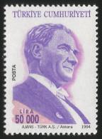 TURKEY 1994 (**) - Mi. 3031, ATATÜRK Regular Issue Stamps - 1921-... République