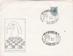 SCHACH-CHESS-ECHECS-SCACC HI, ITALY, 1979, Special Postmark !! - Scacchi