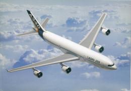 Poster Format  30 X 21 Cm  De L'Airbus A340 - Posters