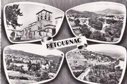 RETOURNAC Retournaguet  Viaduc De Chamalières   - Dentelée - - Retournac