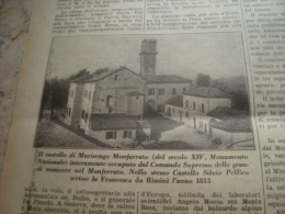 DOMENICA DELL'AGRICOLTORE 1928 MURISENGO MONFERRATO FONDI SESTO IMOLESE - Libri, Riviste, Fumetti