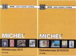 Mittel/Südost-Europa Katalog 2015/2016 Neu 132€ MICHEL Band 1+4 A UN CH Genf Wien CZ CSR HU Kreta SRB BG GR RO TR Cyprus - Telefonkarten