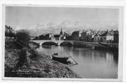 (RECTO / VERSO) GRENOBLE EN 1943 - N° 35 - L' ISERE ET LES ALPES - CARTE FORMAT CPA - Grenoble