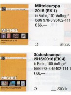 MICHEL Part 1+4 Mittel/Südost-Europa Catalogue 2015/2016 New 132€ A CH Genf Wien CZ CSR HU Kreta SRB BG GR RO TR Cyprus - Andere Verzamelingen