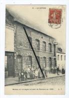 CPA - Le Cateau - Maison Où Fut Signé Le Traité De Cambrai En 1559 - Le Cateau