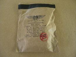 Compresse Verbandpäckchen Luftschutz 1943 Allemand. - Equipement