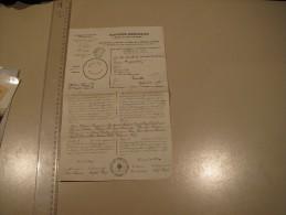 COMMUNE D'IXELLE CONVCATION ELECTORALE A DE SMETH MARGUERITE LE 24 AVRIL 1921 - Historische Dokumente