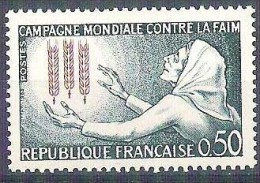 MNH Stamp FAO Freedom From Hunger 1963 FRANCE Campagne Mondiale Contre La Faim - Organisations