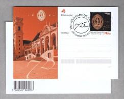 Architecture U.C. Coimbra's University 750 Years 2015 Postal Stationery Portugal Birds Owls Hiboux Sp3354 - Postal Stationery