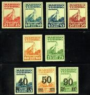 Chemin De Fer  Maribo - Torrig   9 Valeurs Différentes ** Et * - Local Post Stamps