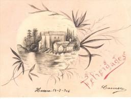 POSTAL     FELICITACION DEL AÑO 1906 - Sin Clasificación