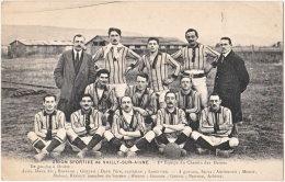 02. Union Sportive De VAILLY-SUR-AISNE. 1re Equipe Du Chemin Des Dames (football) - Autres Communes