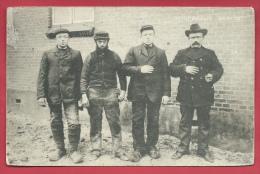 """Hoek Van Holland - Schipbreuk """" Berlin """" - Vier Kranige Hollandsche Zeelieden Die Bij Het Reddingswerk Uitblonken - 1907 - Hoek Van Holland"""