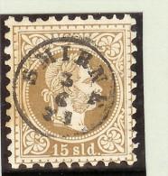 Österreich Levante Mi# 5I Voll-O Smirne 1871-06-03 - Levant Autrichien