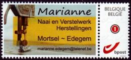 Belgien 2014 - Nähmaschine Naaimachine  Sewing Machine - MiNr 4238 - Textil