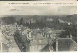 Luxeuil Les Bains - La Rue Carnot, Prise De La Tour - Luxeuil Les Bains