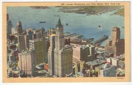 Lower Manhattan And Ellis Island, New York City - Ellis Island