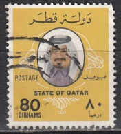 Qatar, 1979 - 80d Sheik Khalifa - Nr.550 Usato° - Qatar