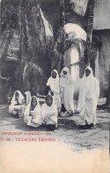 [DC4635] CARTOLINA UFFICIALE - ESPOSIZIONE DI MILANO - VILLAGGIO ERITREO - Non Viaggiata - Old Postcard - Esposizioni