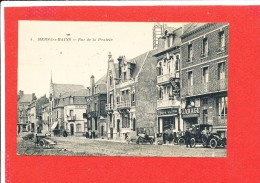 80 MERS Les BAINS Cpa Animée GARAGE DE LA POSTE Rue De La Prairie       4 Baudiniere - Mers Les Bains