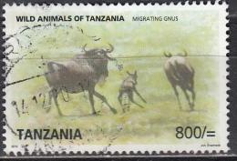 Tanzania, 2010 - 800sh Gnus - Nr.2584 Usato° - Tanzania (1964-...)