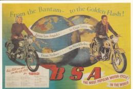MOTO - B S A  1952 - Motorbikes