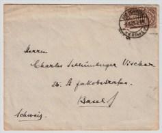 DR, 1923, MI. Nr. 254 B, EF, (Mi. 65.-), Geprüft! ,  #2018 - Briefe U. Dokumente