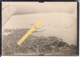 Saint-nazaire Photos Aériennes Vue Port Camps Us Cargos Escorteurs Camouflés Vues Us Ww1 WWI 1.wk 1914-1918 14-18 - War, Military