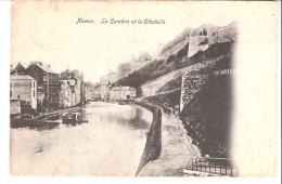 Namur-1905-La Sambre  Et  La Citadelle-Bateaux-Péniches - Namur