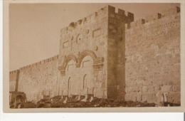 JERUSALEM CARTE PHOTO DE LA PORTE DOREE - Israele