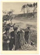"""Bewegung Im Gelände. Aufnahme: Müller-Schonhausen C/1410 Von Wien Nach Halle (Saale) 8.12.41 """"Mit Dem Führer Zum Sieg!"""" - Guerre 1939-45"""
